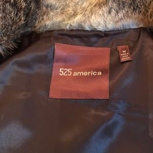 525 America fur vest